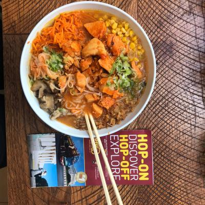 Stumbled upon some Korean Aesthetics at the infamous Rice Bar near Downtown DC. Hands down the best Bibimbap I've had! Not only were the colors uplifting, but the burst of flavor was downright perfect. It was a spontaneously ideal ending to a long Hop-on-Hop-off bus journey; quite the cherry on top.